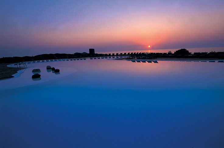 Wonderful Sunset at Torrerjua Villas Sardinia, Villas at this resort have a 30% discount on the 9th June only with Just Sardinia if you book before Sunday 25th March