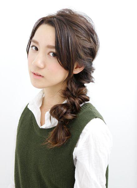 とっても簡単なのに凝ってみえるヘアスタイル☆一度はやってみて!試したい髪型・カット・アレンジ♪