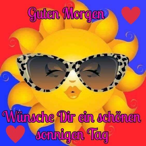 Ich wünsche dir einen schönen sonnigen tag