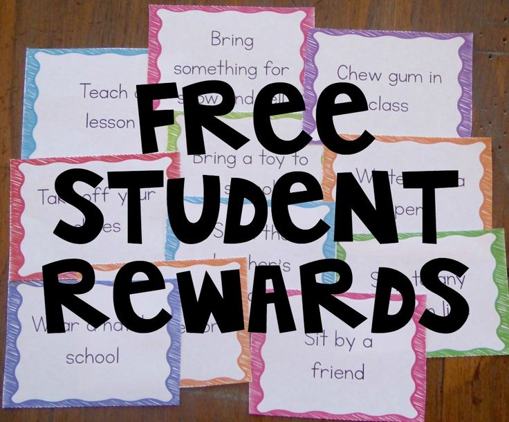 You will love these free student rewards for FREE! Enjoy!
