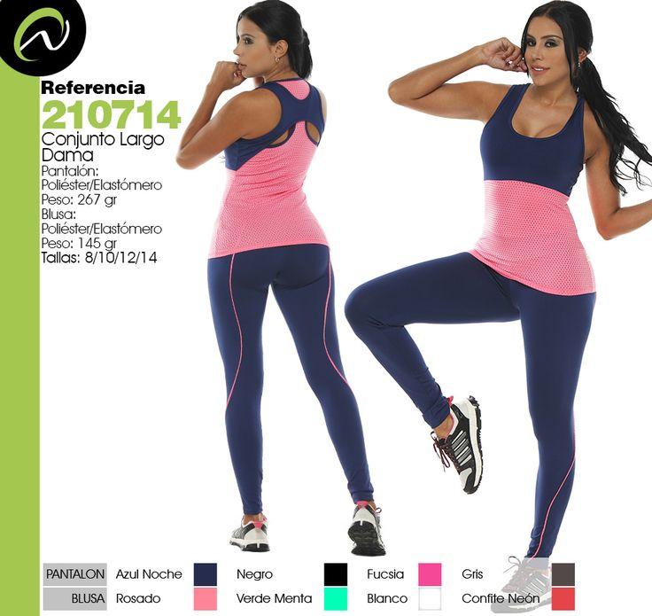 Somos fabricantes y distribuidores de ropa deportiva femenina al por mayor. Encuentre aqui el mejor catalogo de ropa deportiva para venta al por mayor