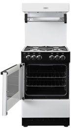 55 cm White Gas Cooker