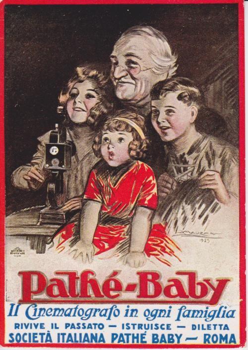 Projecteur PATHE BABY Carte postale 1925