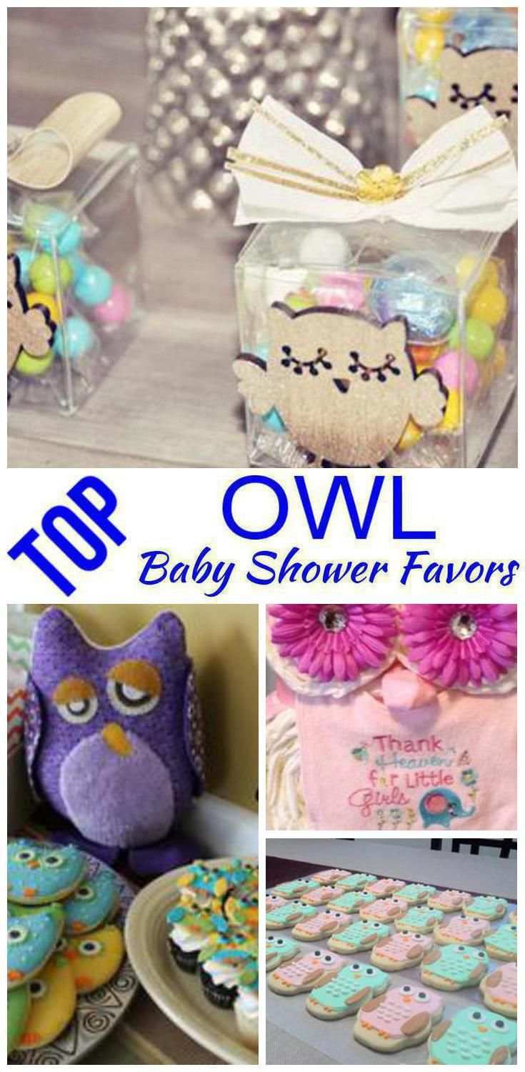 Owl Baby Shower Favors With Images Owl Baby Shower Favors