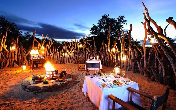 A boma dinner enhances your safari and this authentic experience is only available in Africa. Learn more: