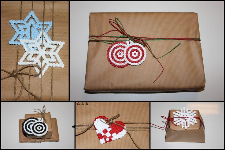 Pakettikoristeita joululahjoihin