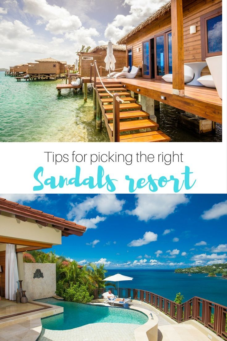 Sandals Saint Lucia: Choosing between the Grande St. Lucian, Regency La Toc and Halcyon Beach.: