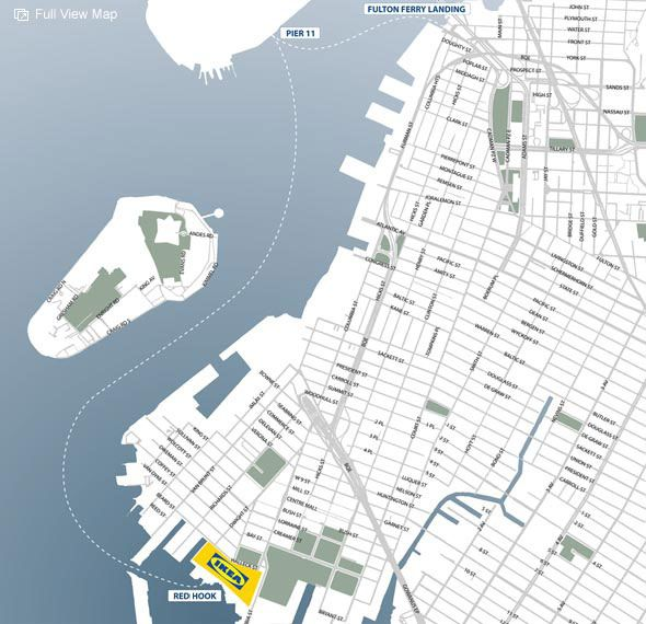 17 best images about nyc maps and charts on pinterest for Ikea brooklyn directions