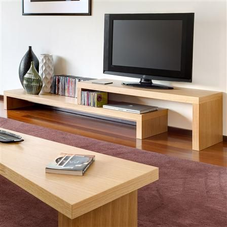 Cliff TV Table, Oak