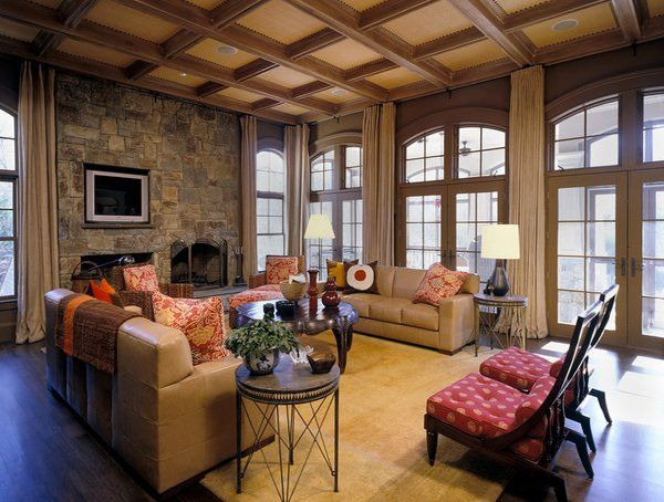 15 Lively Orange Living Room Design Ideas: 25+ Best Ideas About Tan Living Rooms On Pinterest