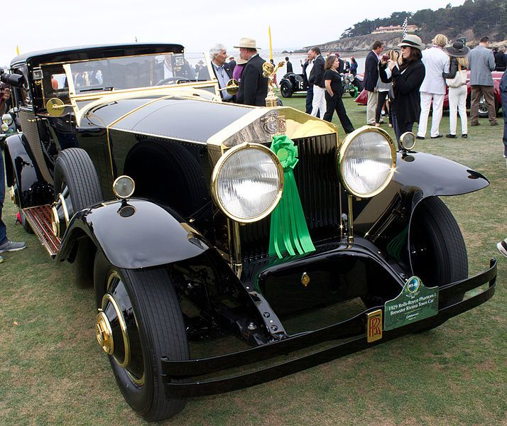 File:1929 Roll-Royce Phantom I Brewster Riviera Town Car (15075498791). This is one of only 10 Rolls-Royce Phantom I Brewster Riviera Town cars bodied by Brewster & Co. and quite possibly the most luxurious.   ****************************************** ===> 1 https://commons.wikimedia.org/wiki/File:1929_Roll-Royce_Phantom_I_Brewster_Riviera_Town_Car_(15075498791).jpg   ****************************************** ===> 2   https://commons.wikimedia.org/wiki/Category:Brewster_automobile_bodies