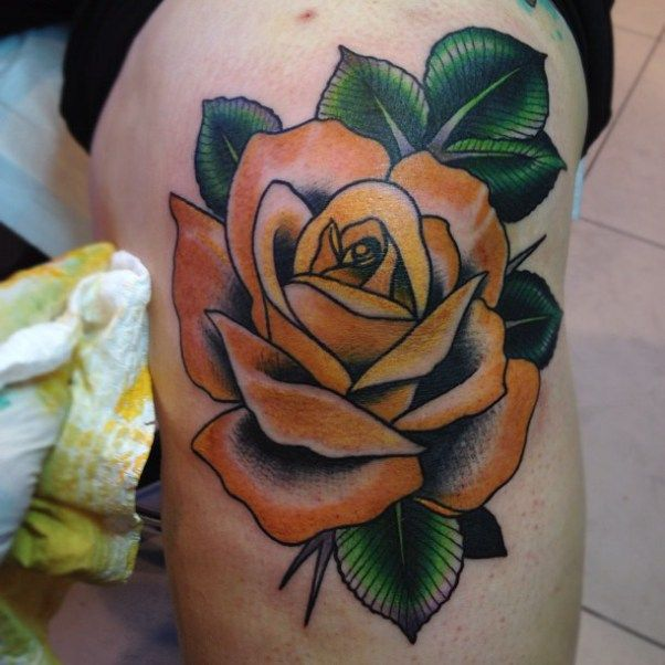 Best 25 Knee Tattoo Ideas On Pinterest: 25+ Best Ideas About Yellow Rose Tattoos On Pinterest