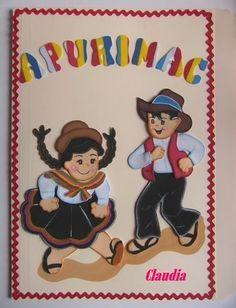 lindas manualidades: Moldes de niños bailando