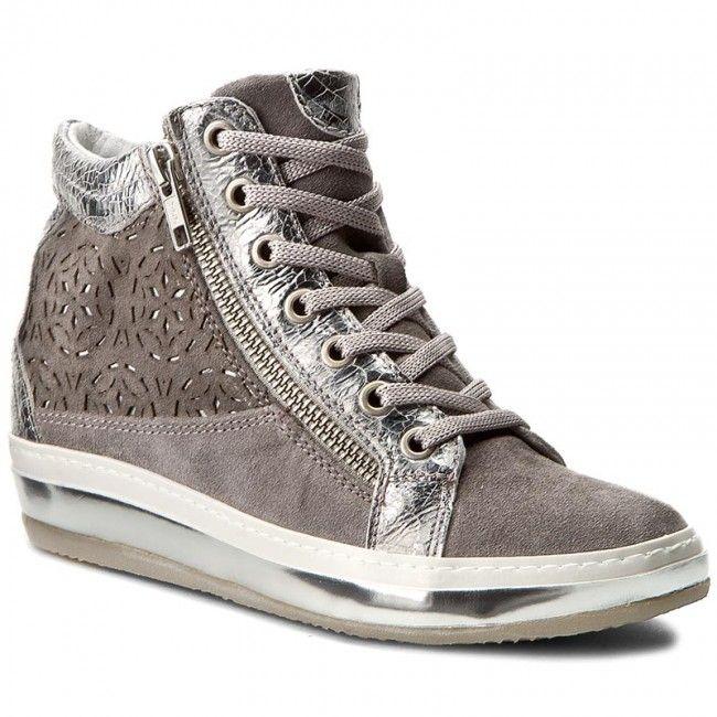 Sneakersy KHRIO - 171K1220STRGOLQ Grigio/Perla/Grigio