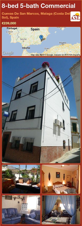 8-bed 5-bath Commercial in Cuevas De San Marcos, Malaga (Costa Del Sol), Spain ►€239,000 #PropertyForSaleInSpain