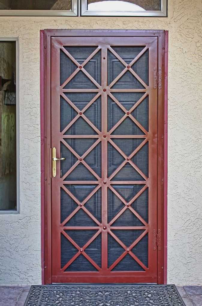 Best 25 security screen ideas on pinterest for Entry door with screen