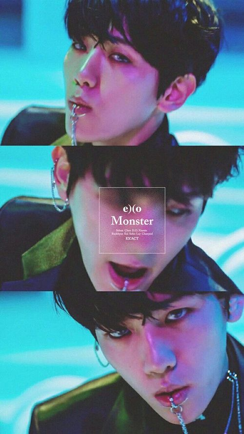 exo, monster, and baekhyun image                                                                                                                                                     More