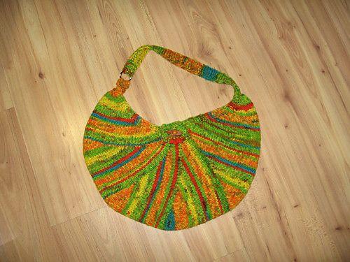 Knitting Pattern Hobo Bag : Ravelry: Hobo Bag pattern by Vicki Mikulak knitting Pinterest Hobo bags...