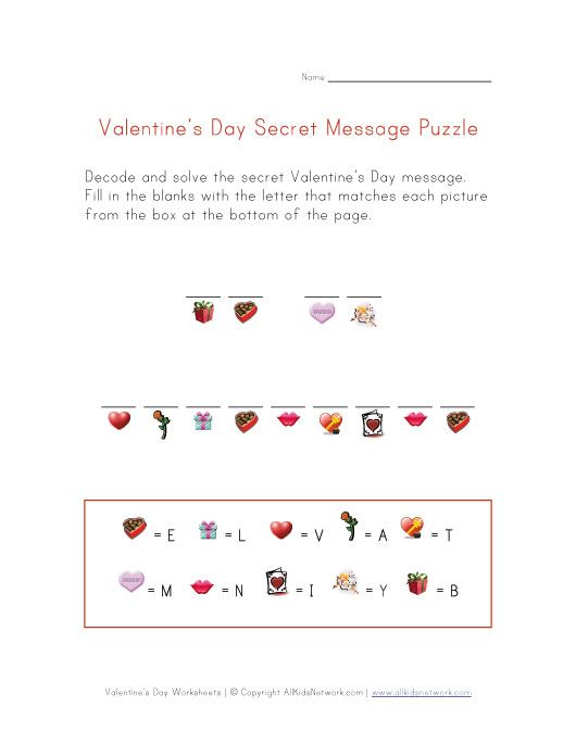 Valentine Easy Worksheets : Best valentine s day crafts worksheets images on
