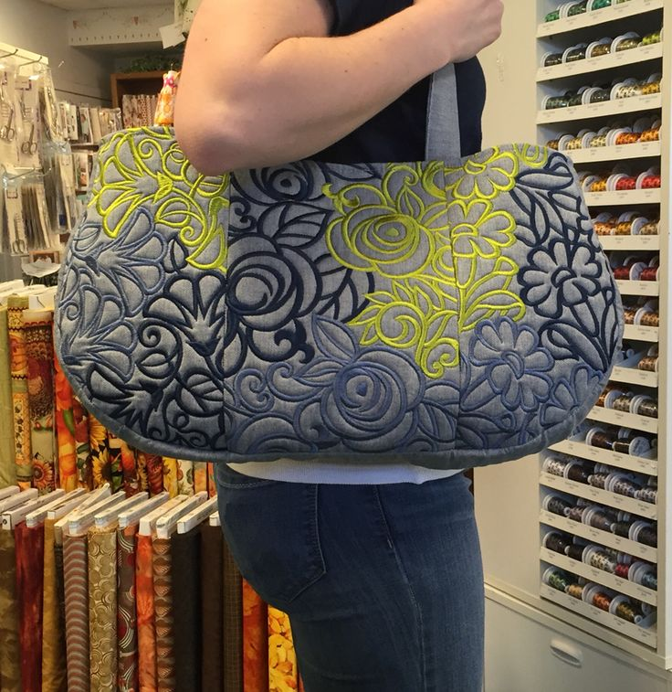 Blossom bag from Anita Goodesign!