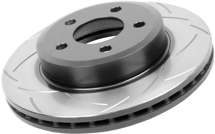 DBA 2005-2007 Nissan Frontier/ 2005-2010 Nissan Pathfinder Front Slotted Street Series Brake Rotor
