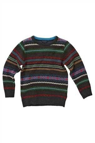 Buy Grey Fairisle Patterned Sweater from the Next UK online shop