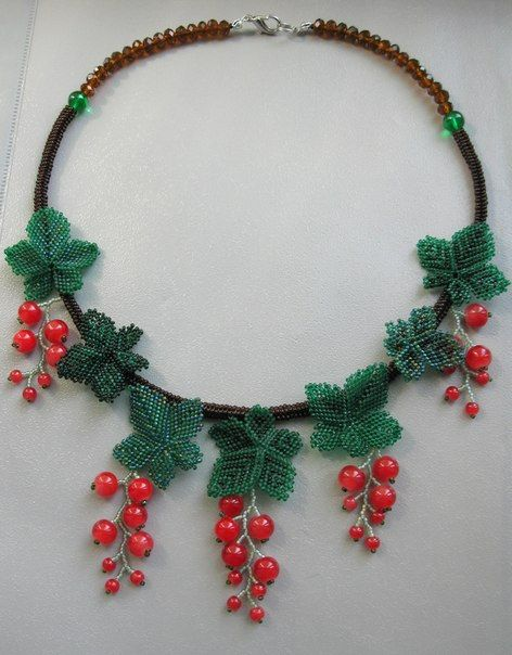 Hey, I found this really awesome Etsy listing at https://www.etsy.com/ru/listing/204579010/beaded-necklace-berries-of-red-currant