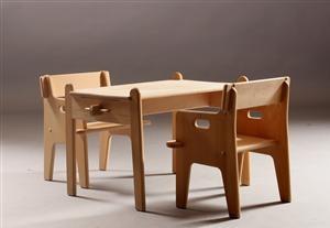 Wegner, Peters stol og bord