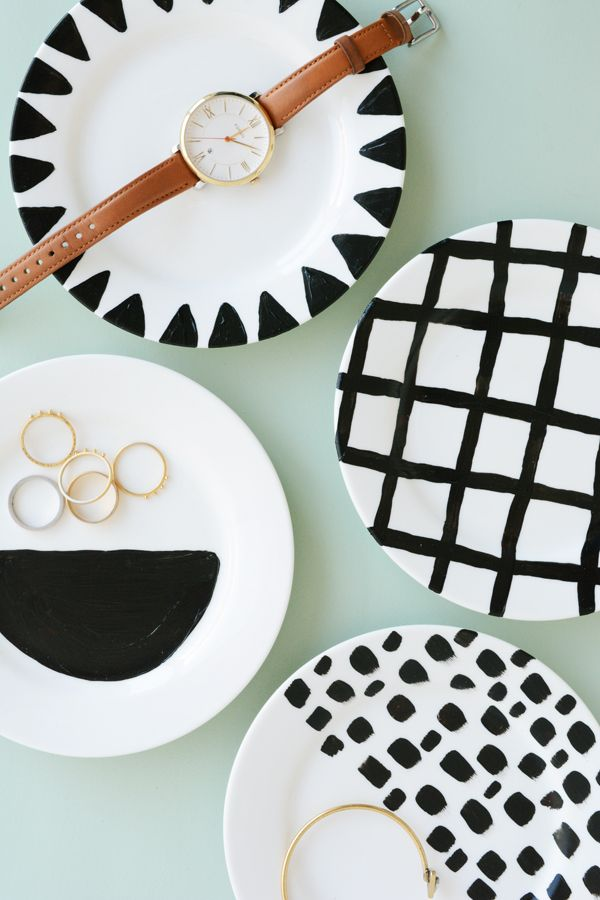 DIY Jewelry and Trinket Dishes