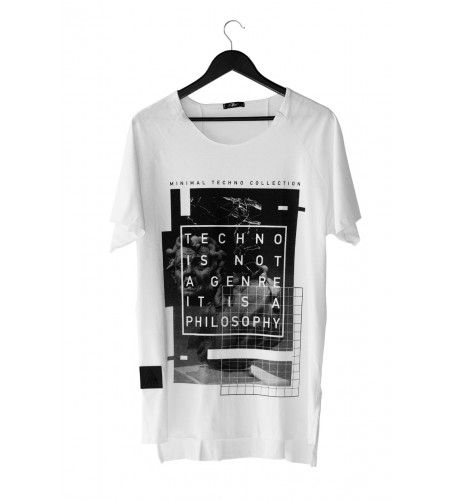 T-Shirt Techno Philosophy
