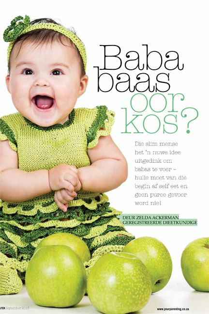 Most awesome article for Baba&Kleuter magazine on Baby feeding by Zelda - A great read!! Find it here: http://www.family1stnutrition.com/Freebies.aspx