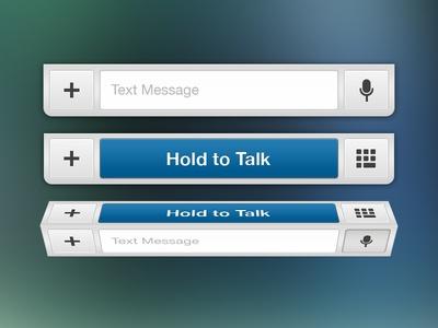 Messages Bar