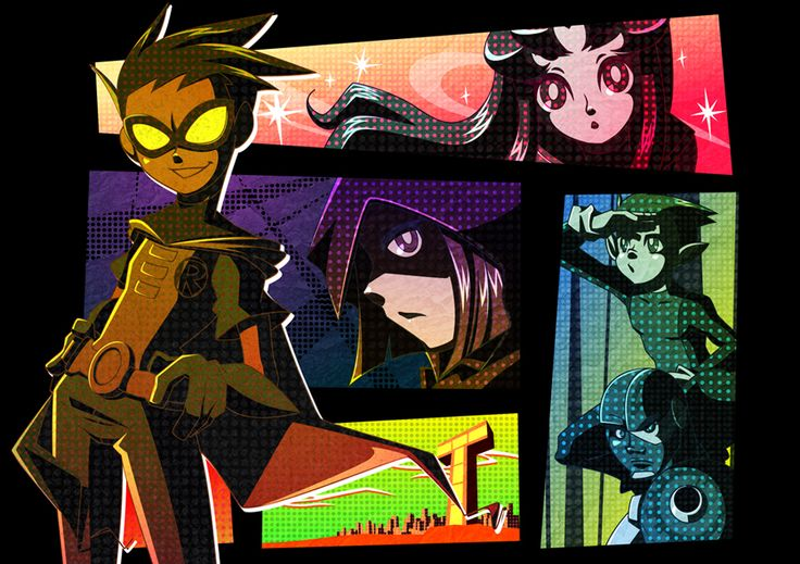 TEEN TITANS by kope40.deviantart.com on @deviantART