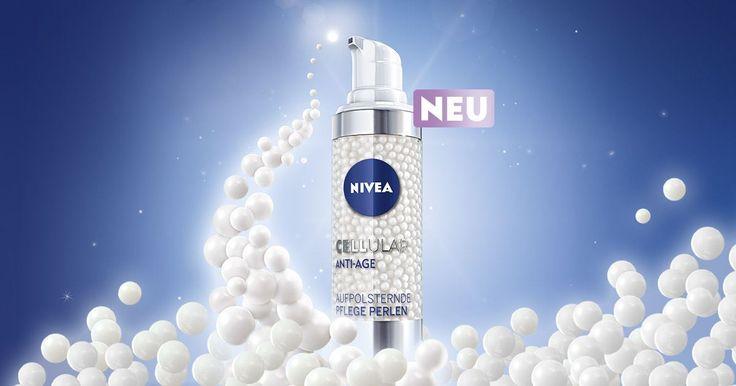 Die NIVEA CELLular Anti-Age Serie mit einer besonderen Wirkstoffkombination: NIVEA CELLular Anti-Age Pflege mit Hyaluron und Kollagen-Booster