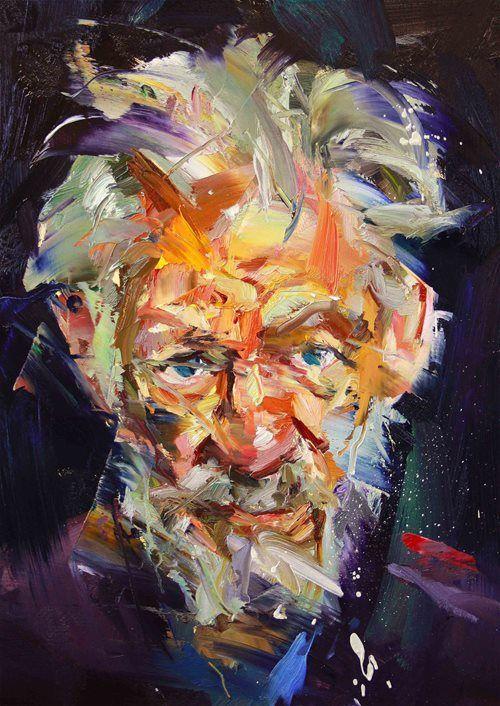 "Paul Wright, ""The man with green eyes"" (Sir Ian McKellen)"