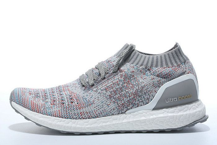 the best attitude f576f 7322b Latest and Newest Adidas Ultra Boost Sneaker Uncaged Multi Color Grey Shoe
