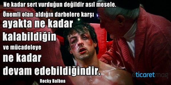 Rocky'den tüm girişimcilere...