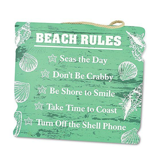 Beach quotes, beach decor for home or beach house - beach rules wood sign. Gifts for cruisers, cruise lovers. When you know people going on cruise vacation to Bahamas, Caribbean, or Alaska, here are some budget friendly gift ideas. This can help them with cruise packing, trip planning. Tips for things to buy to fulfill bucket list destinations, tours, shore excursions. To save money for drinks! Carnival, Royal Caribbean, Norwegian NCL, Disney, Princess, Holland America.