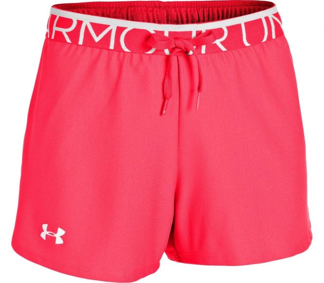 Under Armour - Play Up Dam träningsshorts (röd) 122
