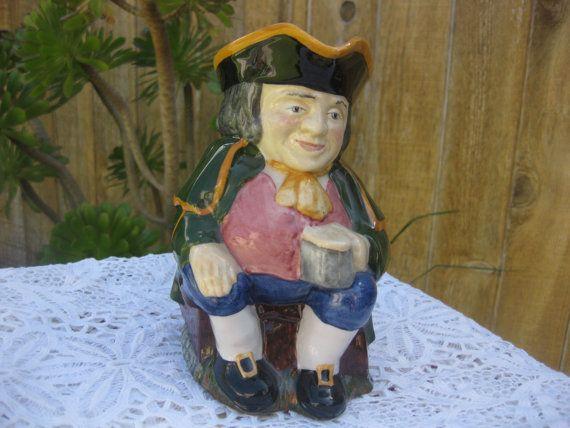 Carlton Ware Toby Jug Made In England Character Mug
