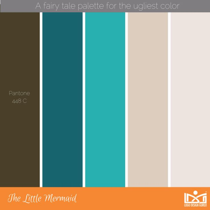 52 Color Swatches to Match the World's Ugliest Color