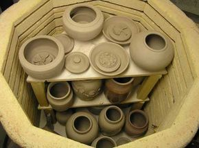 Own and learn to operate a kiln