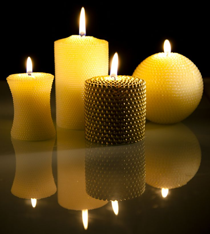 Decorative candles -  Shed a little light, anywhere with this arresting collection of candles.