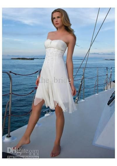 40 best short wedding dresses images on Pinterest | Short wedding ...