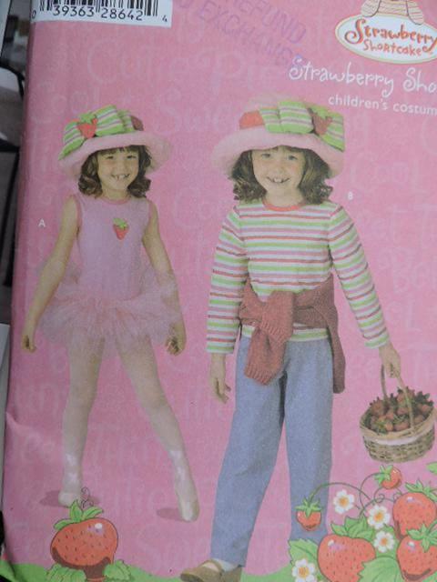 Strawberry Shortcake Children's Outfits Tutu Skirt Leotard