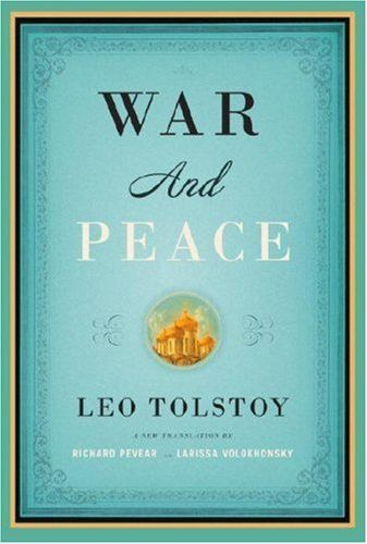 War and Peace~~~~~~~~~~~~~~~~~~  I read this more years ago than I care to admit! :)