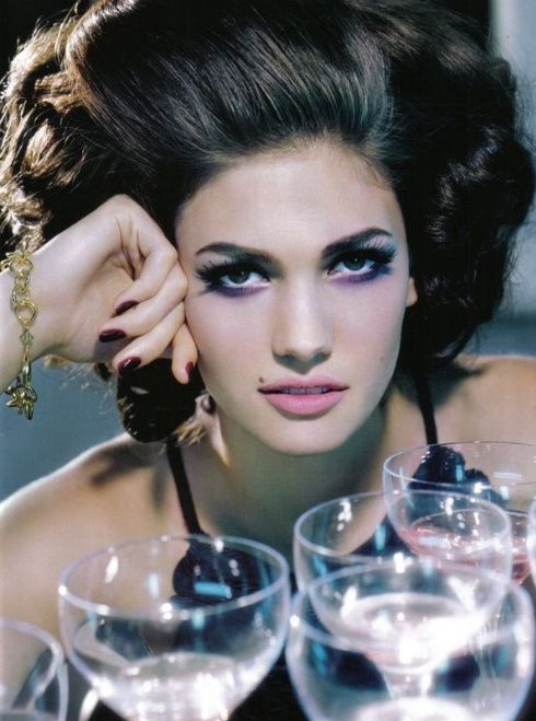 The beautiful Gia Carangi. (If you haven't seen the movie GIA with Angelino Jolie, you should).