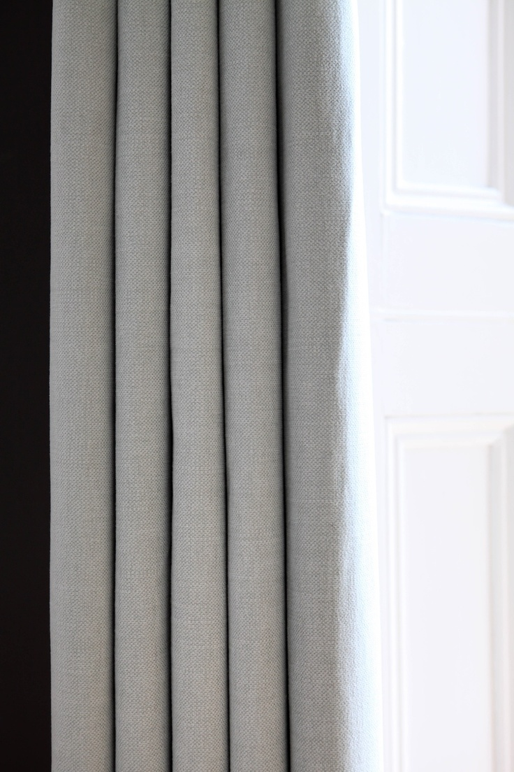 Simple modern curtains from the Modern Curtain Co. Grey Linen #curtains