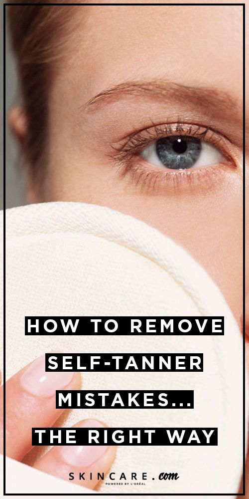 Made a mistake while applying self-tanner? We recently created a step-by-step guide for removing self-tanner mistakes. Learn how to remove self-tanner mistakes, here.