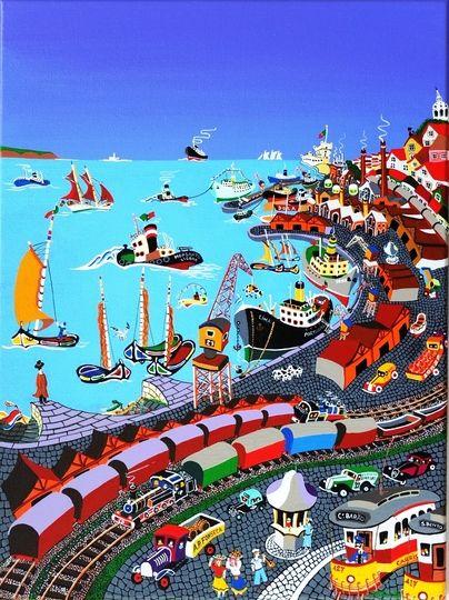 Ode Marítima (Fernando Pessoa), Lisboa - PORTUGAL - J. B. Durão